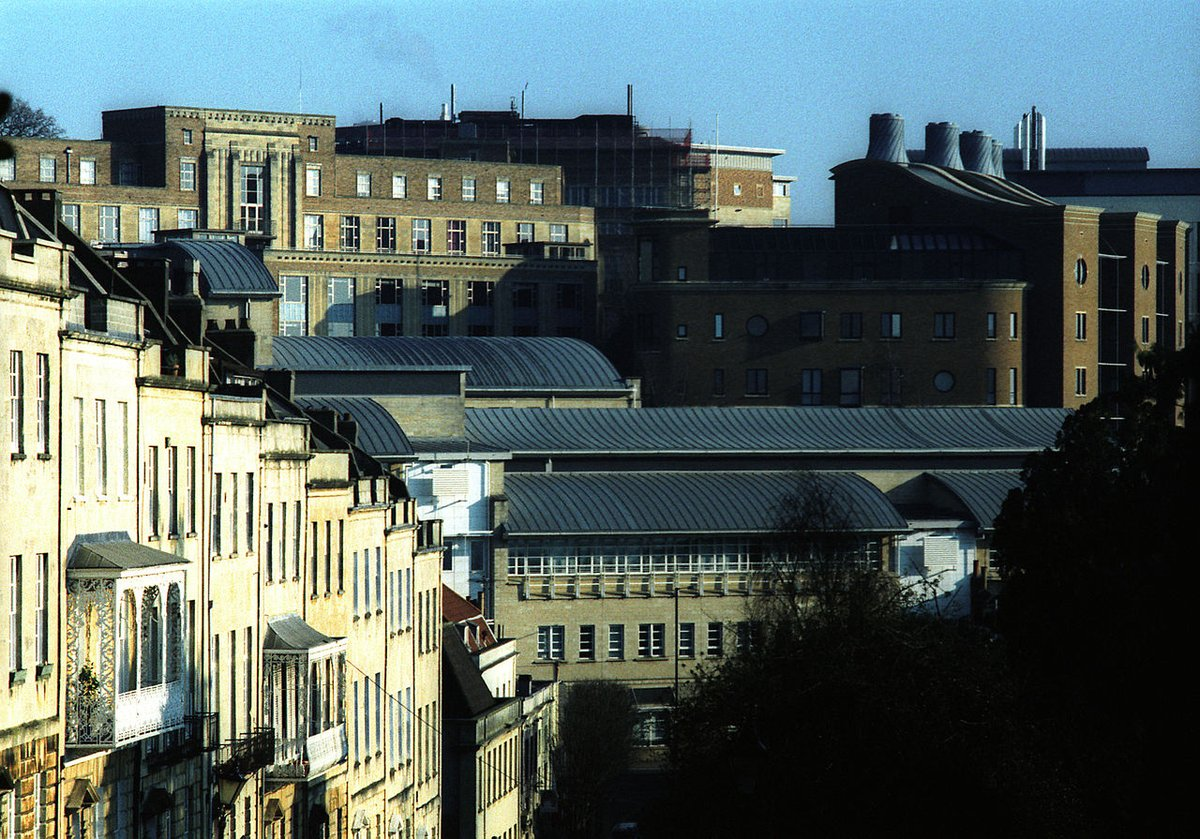 University of Bristol - Charlotte Street in Bristol